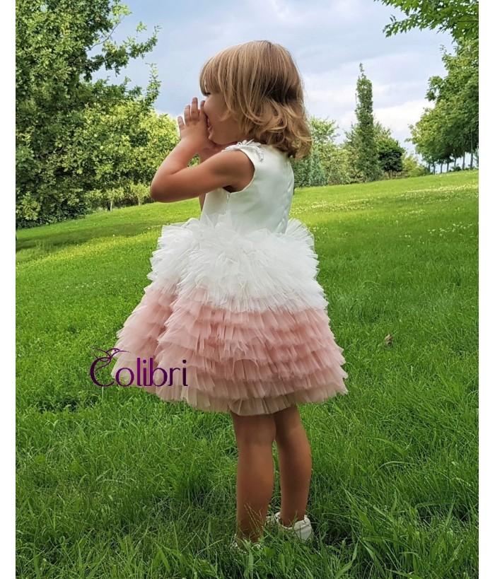 Rochita pentru fetite,  Juliet, 0-24 luni, Colibri, 42