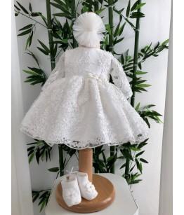 Rochita pentru fetite, Elsa, 0 luni - 2 ani, Colibri, 27145