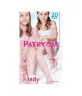 Dres alb de fetita Patricya, 20 den, 6-12 ani