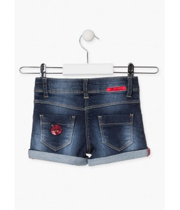 Pantaloni scurti fete, 3-12 ani, Losan, 016-6010AL