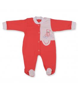 Salopeta color pentru bebelusi, 3-4 luni, 64-66 cm