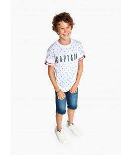 Tricou baieti, 8-16 ani, Losan, 013-1001AL