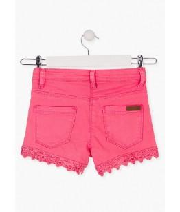 Pantaloni scurti fete, 8-16 ani, LOSAN, 014-9008AL