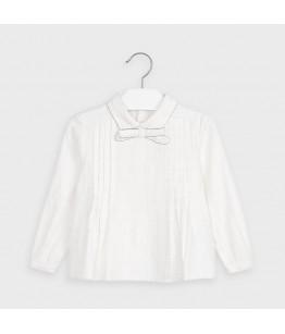 Bluza fete, 2-9 ani, alb, Mayoral, 4148