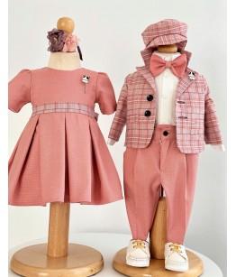 Rochita fete, roz, 0-2 ani, Colibri, 27633