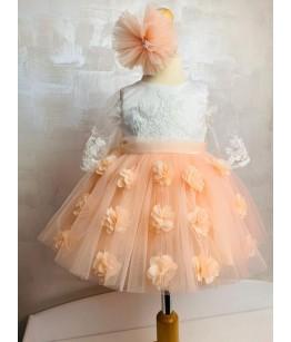 Rochita fetite, 0-2 ani, roz somon, 27744