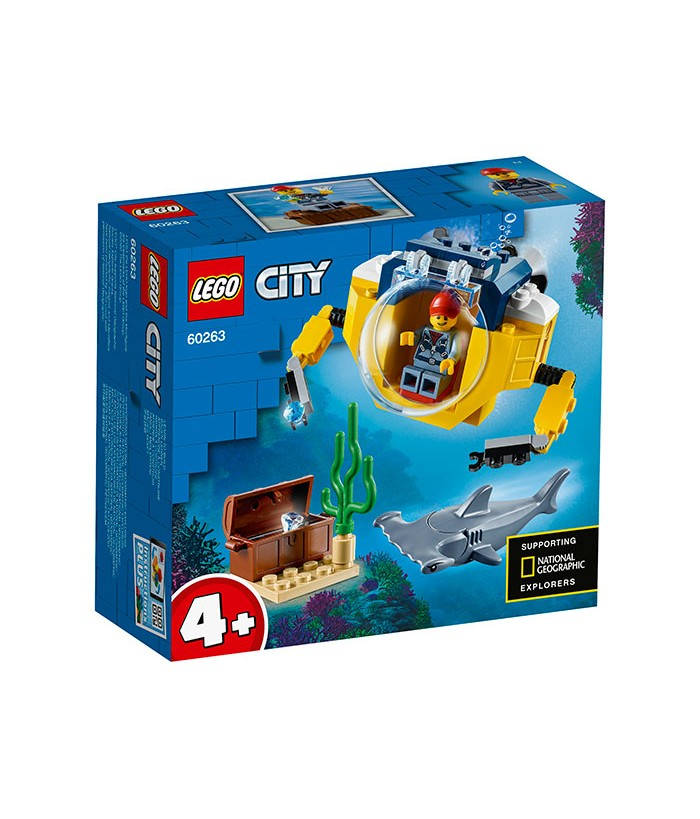 Lego City, Minisubmarin oceanic, 60263