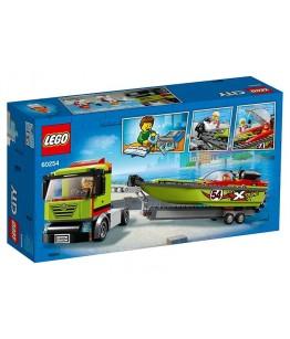 Lego City, Transportor de barca de curse, 60254