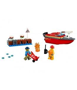 Lego City, Incendiul de la docuri, 60213