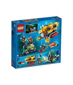Lego City, Submarin de explorare, 60264