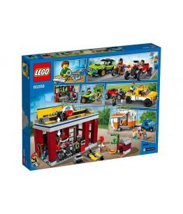 Lego City, Atelier de tuning, 60258