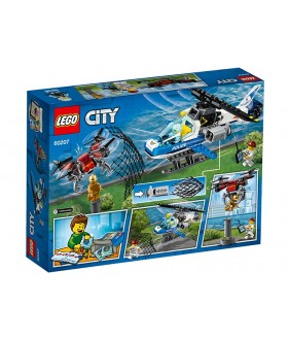 Lego City, Urmarirea cu drona a politiei aeriene, 60207