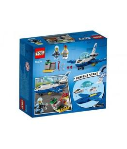 Lego City, Avionul politiei aeriene, 60206