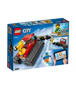 Lego City, Compactor de zapada, 60222
