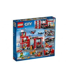 Lego City, Statie de pompieri, 60215