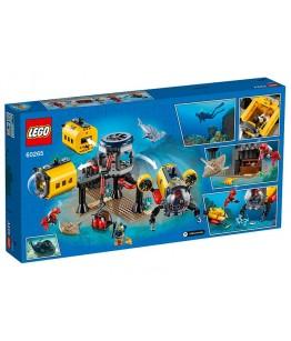 Lego City, Baza de explorare a oceanului, 60265