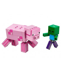 Lego Minecraft, Porc cu Bebelus zombi, 21157