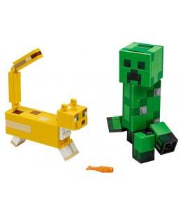 Lego Minecraft, Creeper si Ocelot, 21156