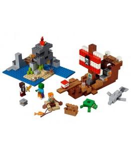 Lego Minecraft, Aventura corabiei de pirati, 21152