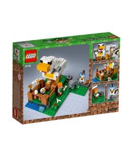 Lego Minecraft, Cotetul de gaini, 21140