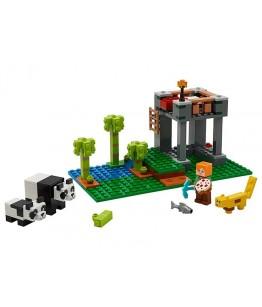 Lego Minecraft, Cresa ursilor panda, 21158