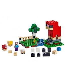 Lego Minecraft, Ferma de lana, 21153