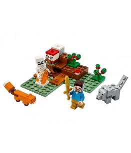 Lego Minecraft, Aventura din Taiga, 21162