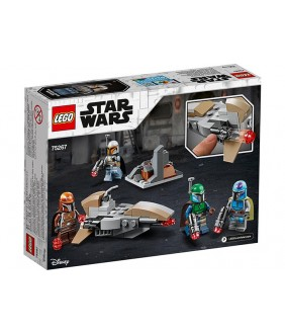 Lego Star Wars, Pachet de lupta mandalorian, 75267