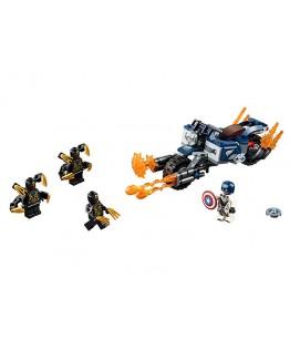 Lego Marvel Super Heroes, Captain America: Atacul Outriderilor, 76123