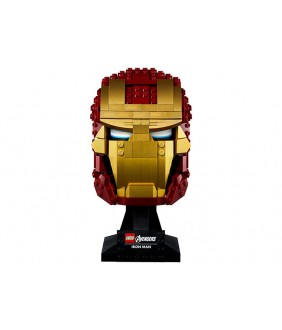 Lego Marvel Super Heroes, Casca Iron Man, 76165