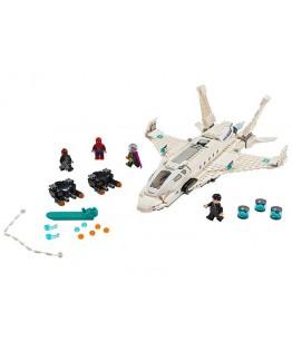 Lego Marvel Super Heroes, Avionul Stark si atacul dronelor, 76130
