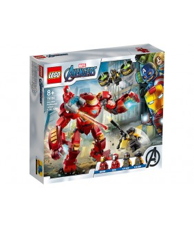 Lego Marvel Super Heroes, Iron Man Hulkbuster contra AIM. Agent, 76164