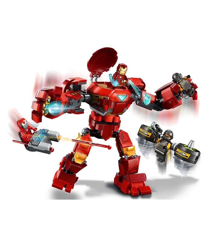 Lego Marvel Super Heroes, Iron Man Hulkbuster contra AIM. Agent, 76164
