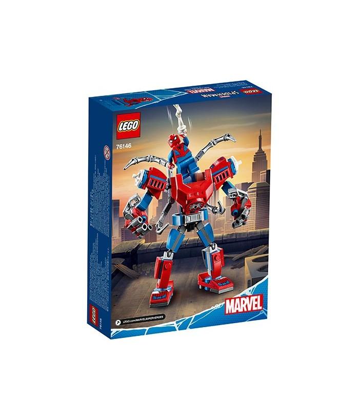 Lego Marvel Super Heroes, Robot Spider Man, 76146