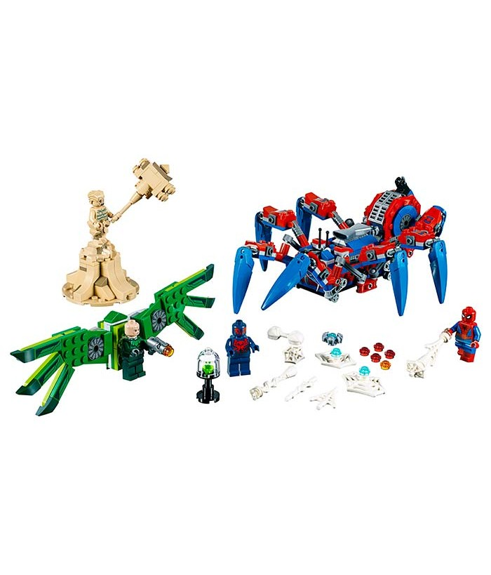 Lego Marvel Super Heroes, Vehiculul lui Spider-Man, 76114