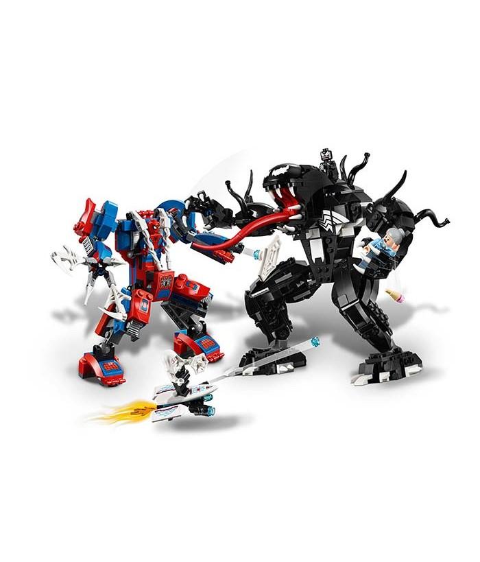 Lego Marvel Super Heroes, Robotul paianjen contra Venom, 76115