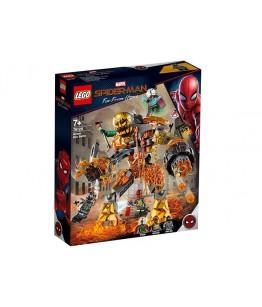Lego Marvel Super Heroes, Batalia cu Molten Man, 76128