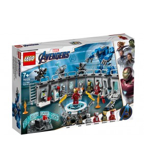 Lego Marvel Super Heroes, Iron Man - Sala Armurilor, 76125