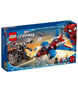 Lego Marvel Super Heroes, Spiderjet contra Robotul Venom, 76150