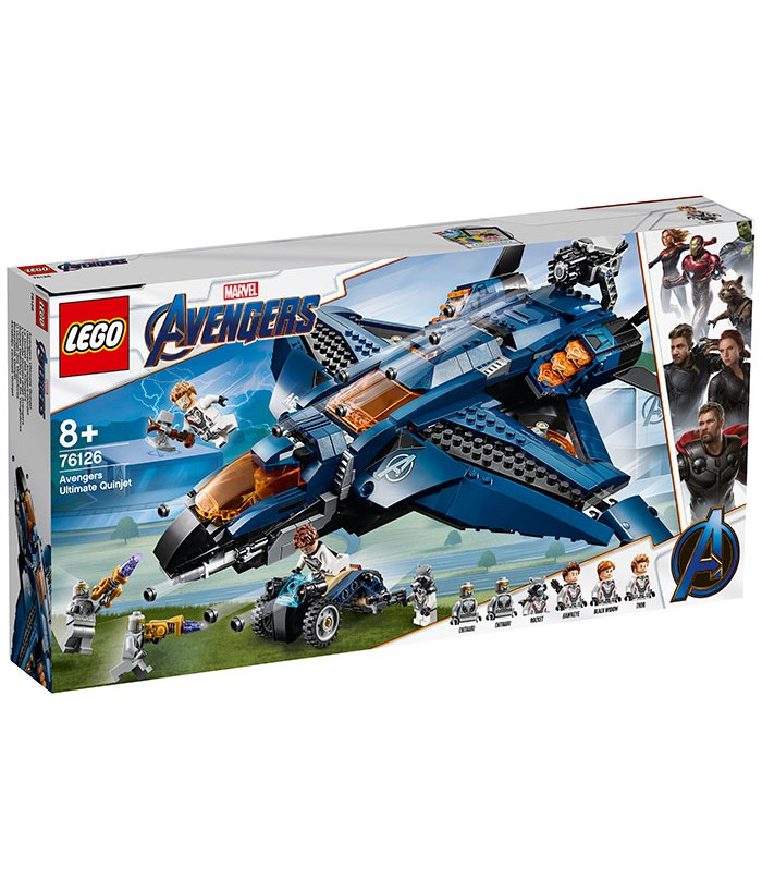 Lego Marvel Super Heroes, Quinjetul suprem al Razbunatorilor, 76126
