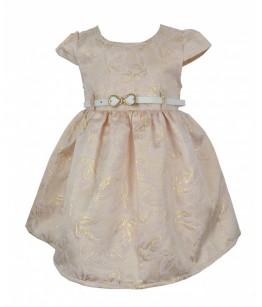 Rochita cu bolero alb pentru fetita, Andromeda, 6 luni-6 ani, 68-116 cm