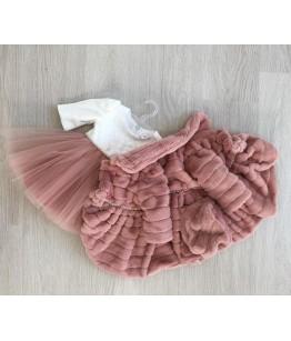 Palton blanita fetita, 0-2 ani, Colibri