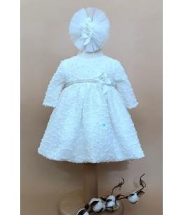 Rochita alba de fetita, 0-1an, Colibri, 27988