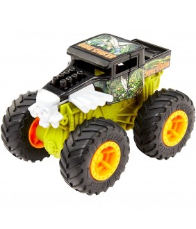 Masina Hot Wheels by Mattel Monster Trucks Bone Shaker