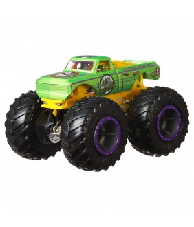 Set Hot Wheels by Mattel Monster Trucks Demolition Doubles A51 Patrol vs Test Subject