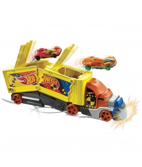 Set Hot Wheels by Mattel Camion coliziune cu 1 masinuta