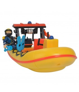 Barca Simba Fireman Sam Neptune cu figurina si accesorii,3+