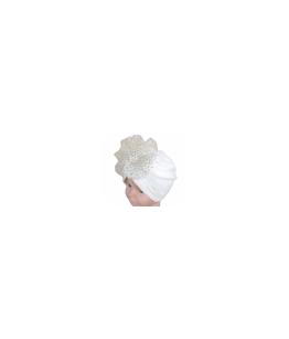 Turban catifea pentru botez, 0-6 luni, 28281