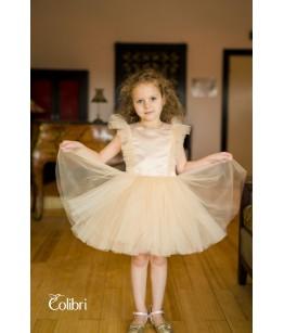 Rochita balerina, 9 luni-12 ani, tulle, Colibri