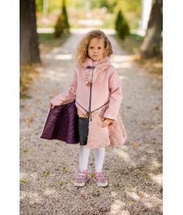 Palton fetita cu fular, 3 ani, Colibri